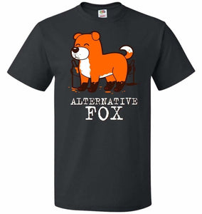 Alternative Fox Unisex T-Shirt - Black / S - T-Shirt