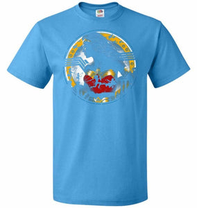 Amazon Girl Unisex T-Shirt - Pacific Blue / S - T-Shirt