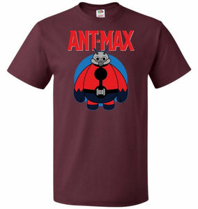 Ant-Max Unisex T-Shirt - Maroon / S - T-Shirt
