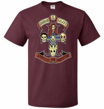 Load image into Gallery viewer, Appetite For Protection Unisex T-Shirt - Maroon / S - T-Shirt