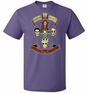 Appetite For Protection Unisex T-Shirt - Purple / S - T-Shirt