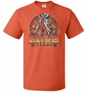 Back To Japan Unisex T-Shirt - Burnt Orange / S - T-Shirt