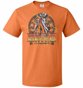 Back To Japan Unisex T-Shirt - Tennessee Orange / S - T-Shirt