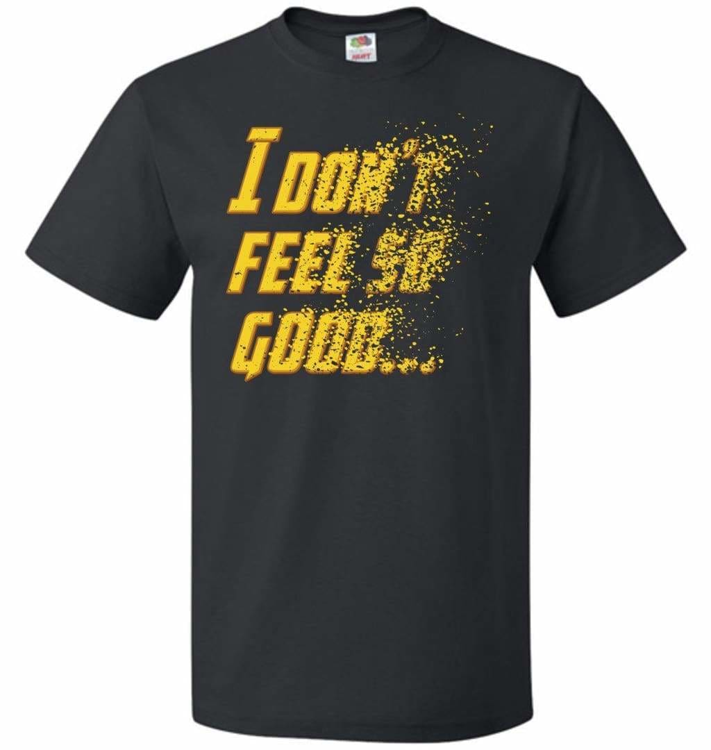 Bad Feeling Unisex T-Shirt - Black / S - T-Shirt