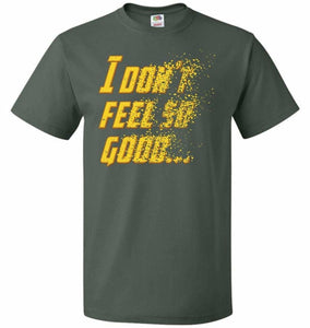 Bad Feeling Unisex T-Shirt - Forest Green / S - T-Shirt