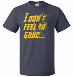 Bad Feeling Unisex T-Shirt - J Navy / S - T-Shirt