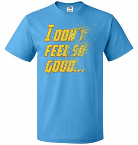 Bad Feeling Unisex T-Shirt - Pacific Blue / S - T-Shirt