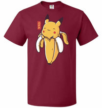 Load image into Gallery viewer, Bananachu Unisex T-Shirt - Cardinal / S - T-Shirt