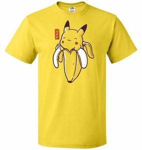 Bananachu V2 Unisex T-Shirt - Yellow / S - T-Shirt