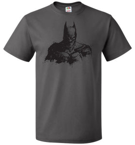 Behind The Shadows Unisex T-Shirt - Charcoal Grey / S - T-Shirt