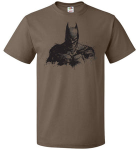 Behind The Shadows Unisex T-Shirt - Chocolate / S - T-Shirt