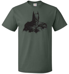Behind The Shadows Unisex T-Shirt - Forest Green / S - T-Shirt