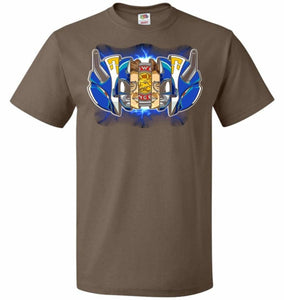 Blue Ranger Unisex T-Shirt - Chocolate / S - T-Shirt