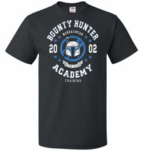 Load image into Gallery viewer, Bounty Hunter Academy 02 Unisex T-Shirt - Black / S - T-Shirt