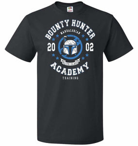Bounty Hunter Academy 02 Unisex T-Shirt - Black / S - T-Shirt