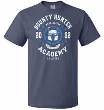 Load image into Gallery viewer, Bounty Hunter Academy 02 Unisex T-Shirt - Denim / S - T-Shirt