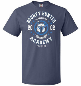 Bounty Hunter Academy 02 Unisex T-Shirt - Denim / S - T-Shirt