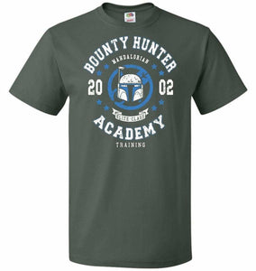 Bounty Hunter Academy 02 Unisex T-Shirt - Forest Green / S - T-Shirt