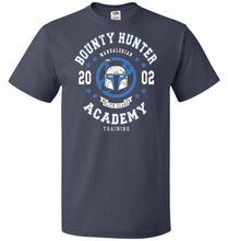Load image into Gallery viewer, Bounty Hunter Academy 02 Unisex T-Shirt - J Navy / S - T-Shirt