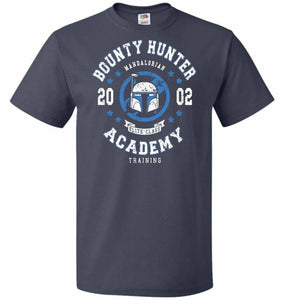 Bounty Hunter Academy 02 Unisex T-Shirt - J Navy / S - T-Shirt