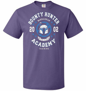 Bounty Hunter Academy 02 Unisex T-Shirt - Purple / S - T-Shirt