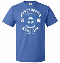 Load image into Gallery viewer, Bounty Hunter Academy 02 Unisex T-Shirt - Royal / S - T-Shirt