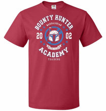 Load image into Gallery viewer, Bounty Hunter Academy 02 Unisex T-Shirt - True Red / S - T-Shirt