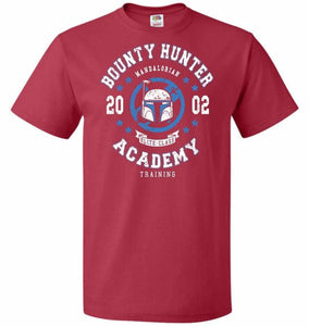 Bounty Hunter Academy 02 Unisex T-Shirt - True Red / S - T-Shirt