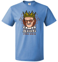 Load image into Gallery viewer, Cameo King B Unisex T-Shirt - Columbia Blue / S - T-Shirt