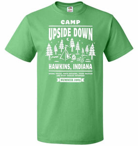 Camp Upside Down Unisex T-Shirt - Kelly / S - T-Shirt
