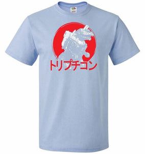 Cybertronian Kaiju Unisex T-Shirt - Light Blue / S - T-Shirt