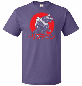 Cybertronian Kaiju Unisex T-Shirt - Purple / S - T-Shirt