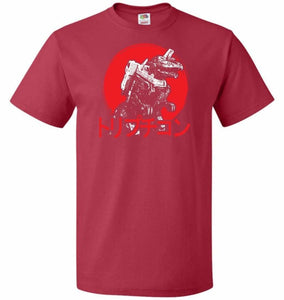 Cybertronian Kaiju Unisex T-Shirt - True Red / S - T-Shirt