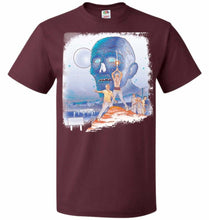 Load image into Gallery viewer, Dead Wars Unisex T-Shirt - Maroon / S - T-Shirt