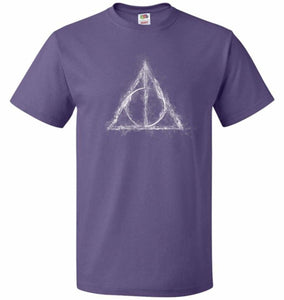 Deathly Hollows Unisex T-Shirt - Purple / S - T-Shirt