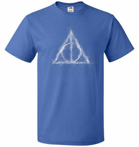 Deathly Hollows Unisex T-Shirt - Royal / S - T-Shirt