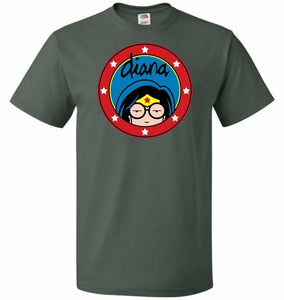 Diana Unisex T-Shirt - Forest Green / S - T-Shirt