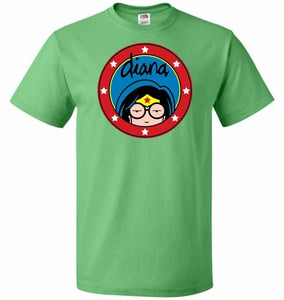 Diana Unisex T-Shirt - Kelly / S - T-Shirt