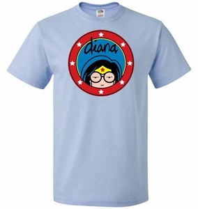 Diana Unisex T-Shirt - Light Blue / S - T-Shirt