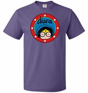 Diana Unisex T-Shirt - Purple / S - T-Shirt
