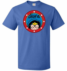 Diana Unisex T-Shirt - Royal / S - T-Shirt