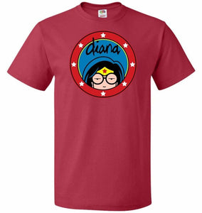 Diana Unisex T-Shirt - True Red / S - T-Shirt