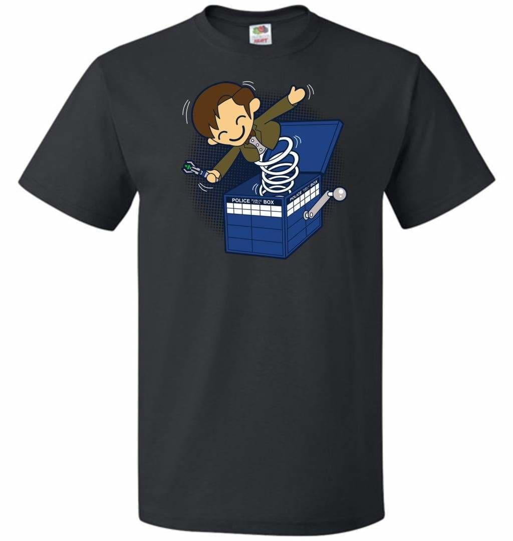 Doctor In the Box Unisex T-Shirt - Black / S - T-Shirt