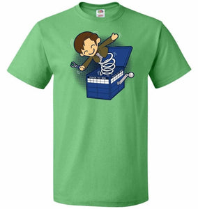 Doctor In the Box Unisex T-Shirt - Kelly / S - T-Shirt