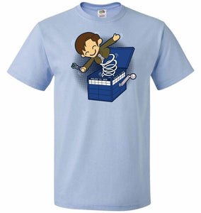 Doctor In the Box Unisex T-Shirt - Light Blue / S - T-Shirt