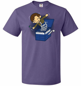 Doctor In the Box Unisex T-Shirt - Purple / S - T-Shirt