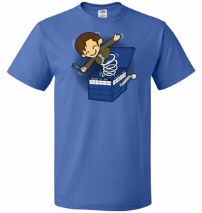Doctor In the Box Unisex T-Shirt - Royal / S - T-Shirt