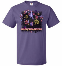 Load image into Gallery viewer, Dragon Warrior Unisex T-Shirt - Purple / S - T-Shirt