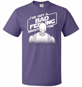 Droid Intuition Unisex T-Shirt - Purple / S - T-Shirt