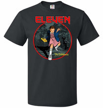 Load image into Gallery viewer, Eleven The Telekinetic Unisex T-Shirt - Black / S - T-Shirt